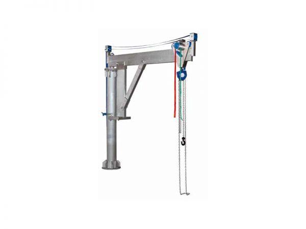 Schilling - Aluminiowy żuraw obrotowy