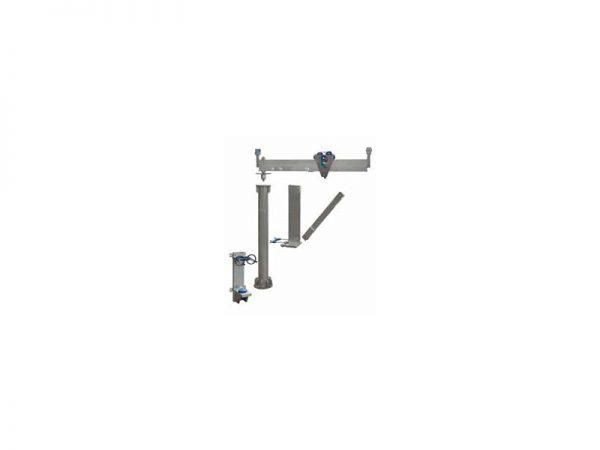 Schilling - Aluminiowy żuraw obrotowy - części