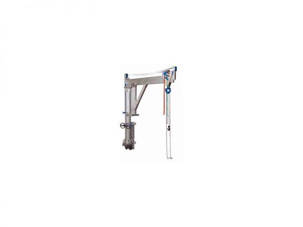 Schilling - Aluminiowy żuraw obrotowy z konsolą